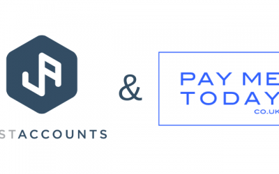 JustAccounts Launch New Service – Pay Me Today