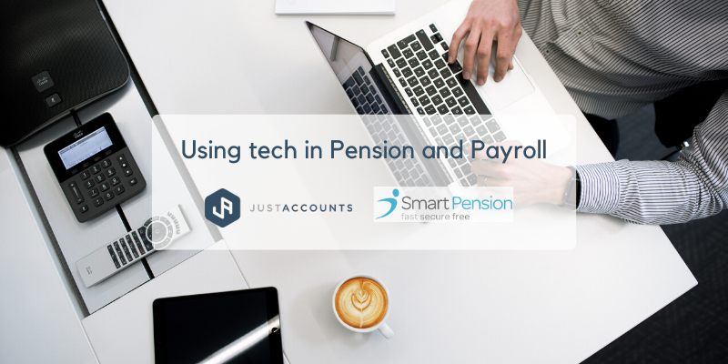 Using tech in Pension and Payroll